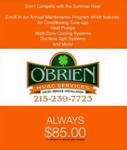 Obrien HVAC Maintenance